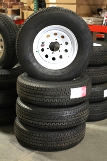 NEW/OLD STOCK MASTERTRACK TIRES & RIMS TIRES SIZE: 235/80R16 E