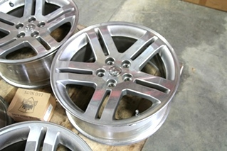 SET OF 4 USED CHRYSLER DODGE CHARGER 5 LUG WHEELS | INCLUDES LUG NUTS & CENTER CAPS