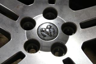 SET OF 4 USED CHRYSLER DODGE CHARGER 5 LUG WHEELS | INCLUDES LUG NUTS & CENTER CAPS