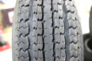 INDIVIDUAL POWER KING TOWMAX STR ST225/75R15 TIRE & 6 LUG ALUMINUM WHEEL