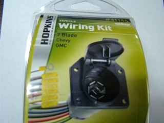 NEW HOPKINS TOWING VEHICLE WIRING KIT PART # 41145