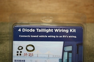 RV BLUE OX BX8848 TOW VEHICLE WIRING KIT FOR SALE