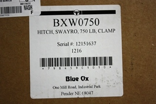 BLUE OX BXW0750 WEIGHT DISTRIBUTION HITCH SWAYPRO RV PARTS FOR SALE